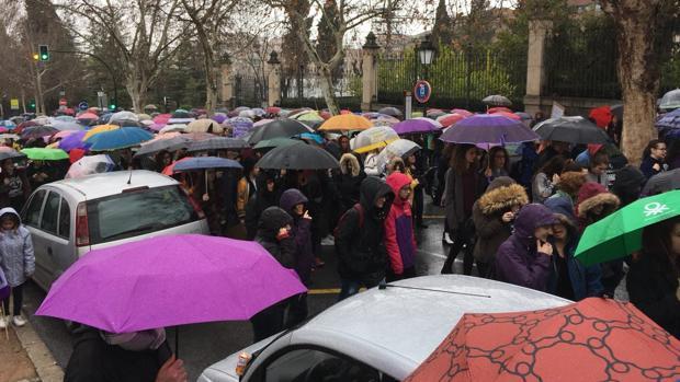Manifestación por el Día de la Mujer en Granada
