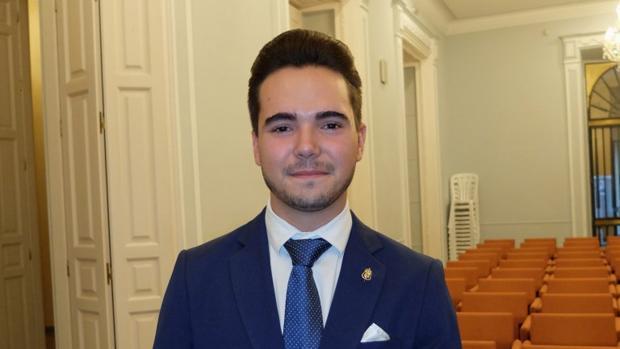 El pregonero de juventud de Córdoba, Javier Romero