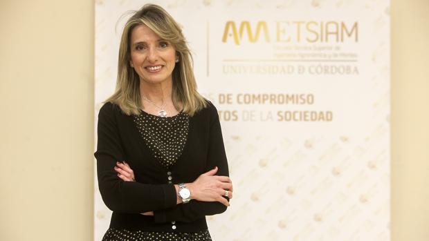 Rosa Gallardo, directora de la Escuela de Agrónomos de Córdoba