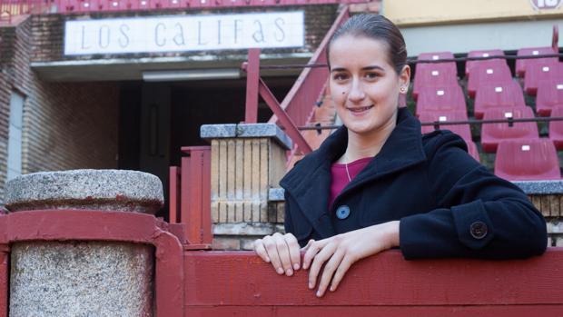 La novillera Rocío Romero, en el Coso de los Califas de Córdoba