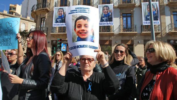 Concentración del pasado viernes en Almería