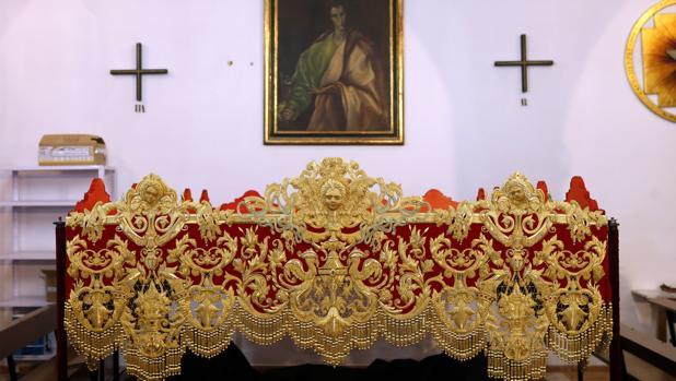 Bambalina de la Virgen de la Salud