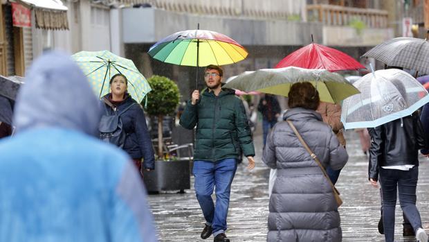 La lluvia se va a quedar otra semana en Córdoba
