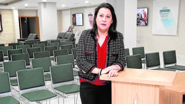 María Dolores Jiménez, gerente de Tanatorios de Córdoba