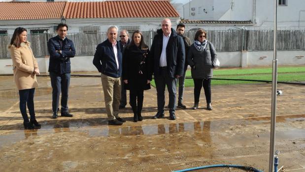 Visita institucional a La Granjuela