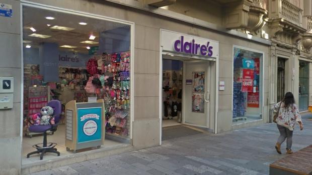 Tienda de Claire's en el centro de Córdoba