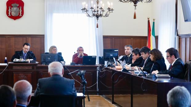 Juicio de la pieza política del caso ERE en la Audiencia de Sevilla