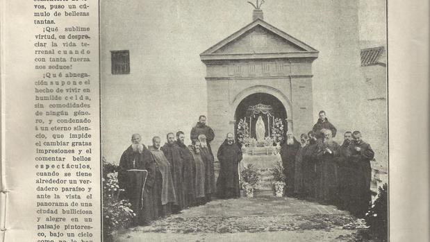 Reproducción de la imagen publicada en 1913