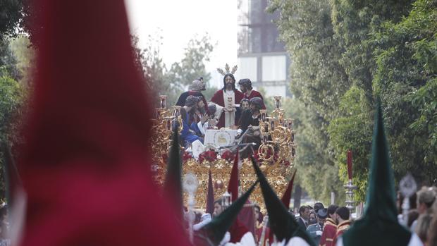Cortejo de la Sagrada Cena de la Semana Santa de Córdoba