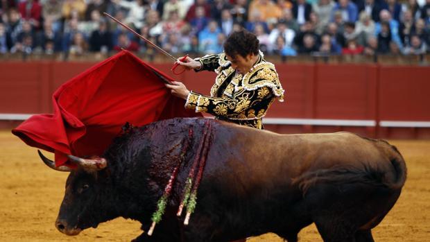 Finito de Córdoba durante una corrida de toros