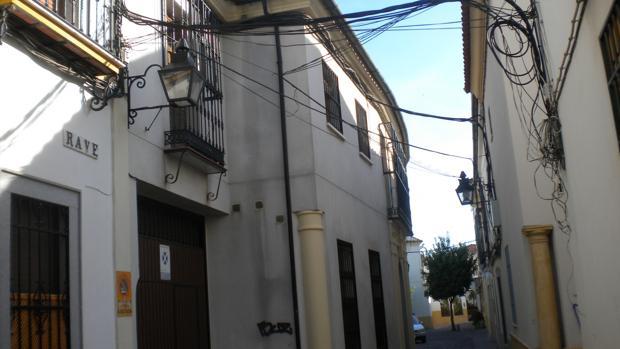 Calle Rave en el barrio de Santiago