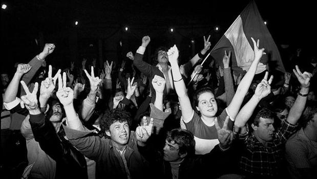 Ciudadanos celebran el éxito del referéndum por la autonomía de Andalucia