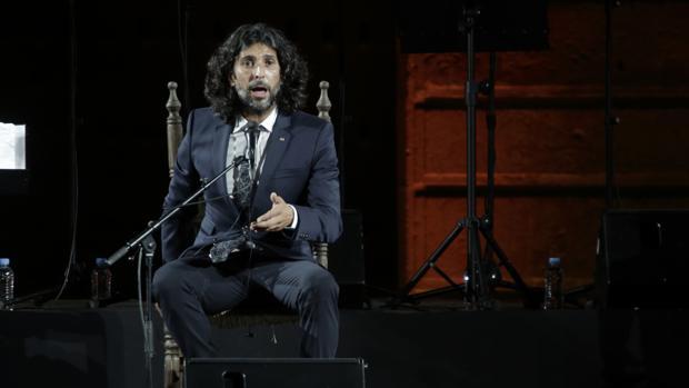 Actuación del cantaor onubense Arcángel