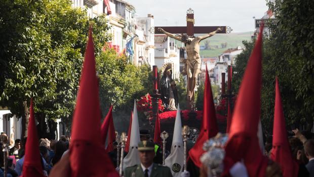 El Santísimo Cristo de la Caridad en la Calle San Fernando