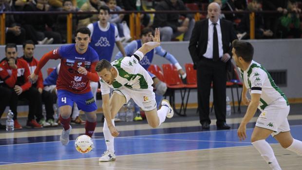 El Itea Córdoba CF, en un partido en Vista Alegre