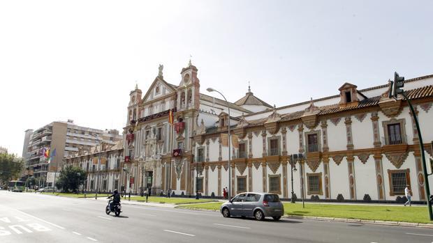 Fachada de la Diputación Provincial de Córdoba