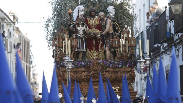 El Señor del Prendimiento el pasado Martes Santo