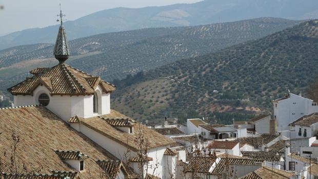 Tejados de la villa de Priego de Córdoba
