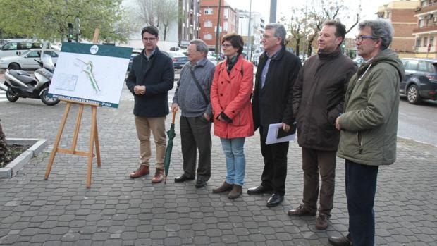 Presentación de las obras de la Carretera de Trassierra