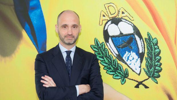 El presidente del Alcorcón, Ignacio Legido, y socio de BDO Abogados