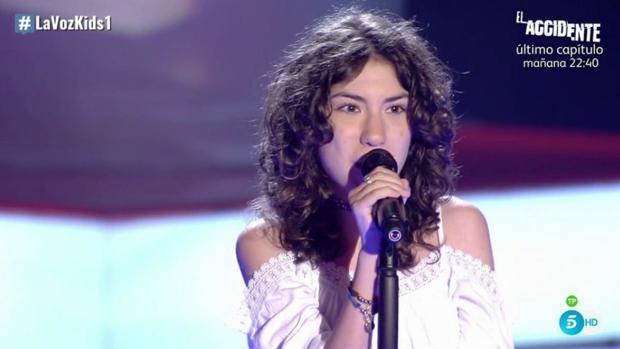La joven cantante cordobesa