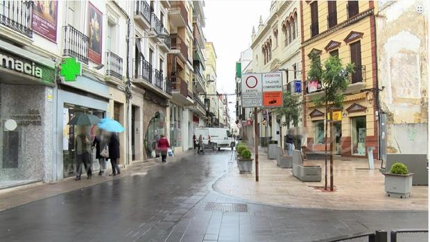 La calle Corredera de Montilla, en una imagen de la web del Ayuntamiento