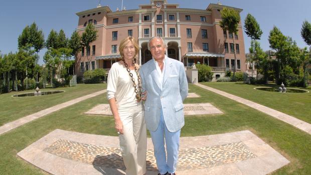 Alicia Villapadierna y Ricardo Arranz en Marbella