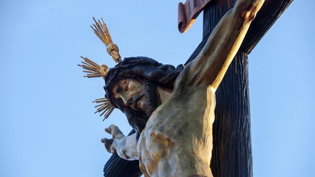 El Santísimo Cristo de la Piedad el pasado Miércoles Santo