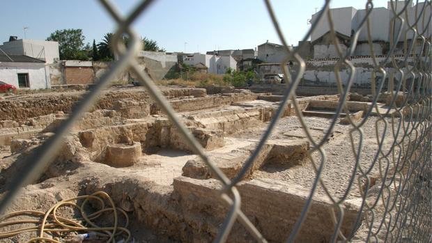 Restos del convento de Santa Inés, de donde se fugó Elvira Bañuelos