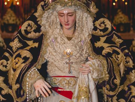 Imagen de la Virgen de la hermandad.