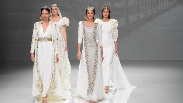 Propuestas de Matilde Cano en la Barcelona Bridal Week
