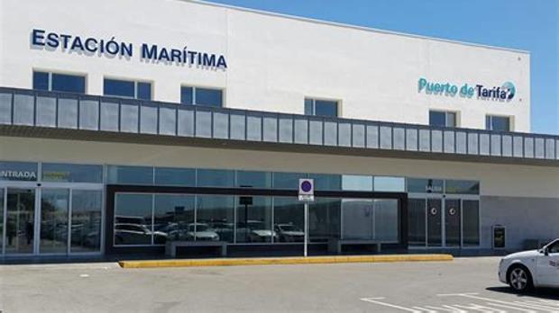Imagen de la estación marítima del puerto de Tarifa.