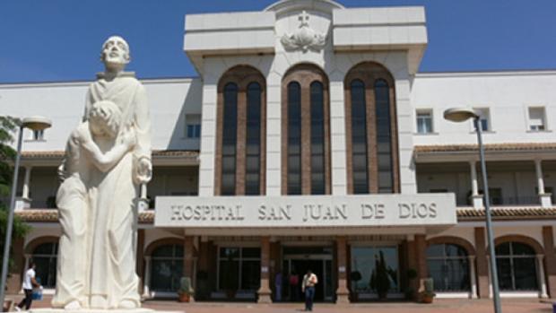 Fachada del hospital San Juan de Dios de Córdoba