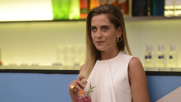 La actriz sevillana protagonista de la serie «Allí abajo», María León