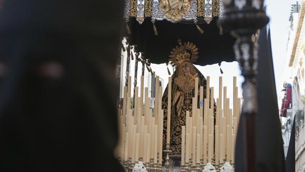 María Santísima Nazarena el pasado Jueves Santo