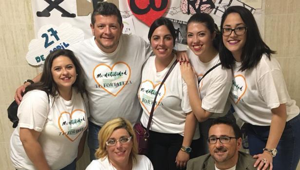 Grupo ganador del congreso local de Cádiz