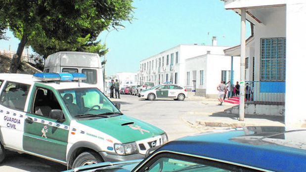 Operación de la Guardia Civil en Bujalance