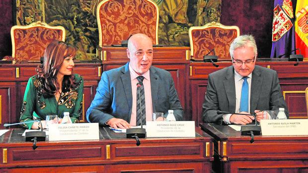 Frima del acuerdo con entidades como Guadalquivir Futuro