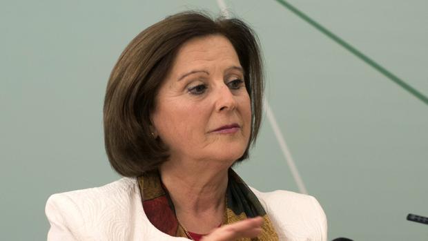 María José Sánchez Rubio, consejera de Igualdad y Bienestar Social de la Junta de Andalucía