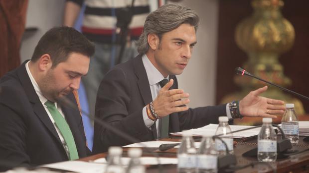 El portavoz del PP en Diputación interviene en un Pleno