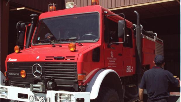 Un camión de los bomberos de Córdoba