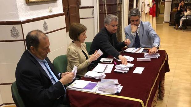 Momento del cabildo electoral celebrado este sábado