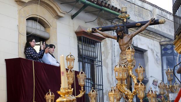 El Santísimo Cristo de la Misericordia en la pasada Semana Santa