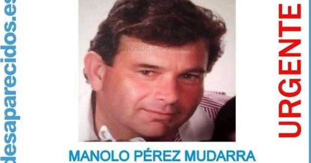 Imagen del fallecido difundida por SOS Desaparecidos