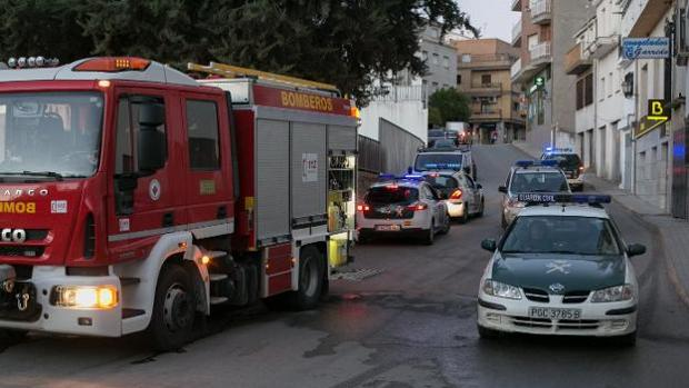 Despliegue policial establecido en Granada este martes
