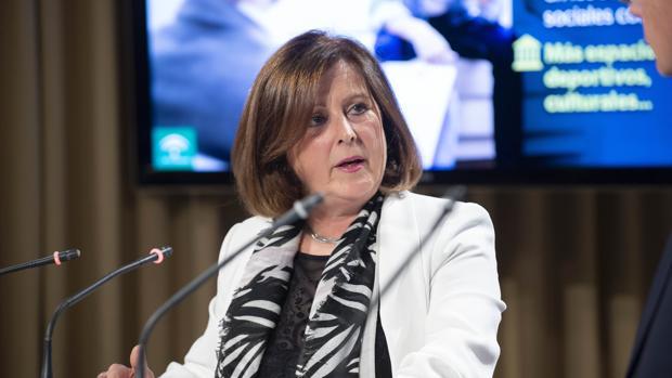 La consejera de Igualdad y Bienestar Social, María José Sánchez Rubio