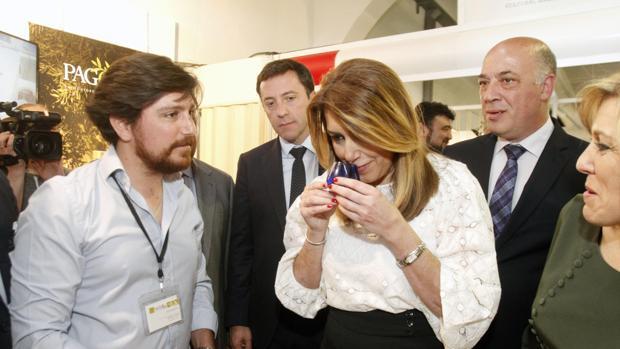 La presidenta de la Junta de Andalucía, en Montoro