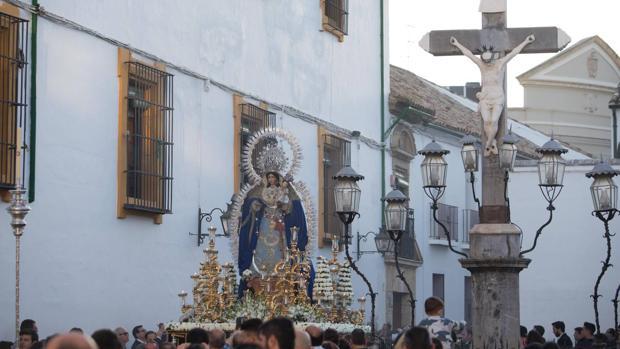 Procesión de la Virgen de los Ángeles