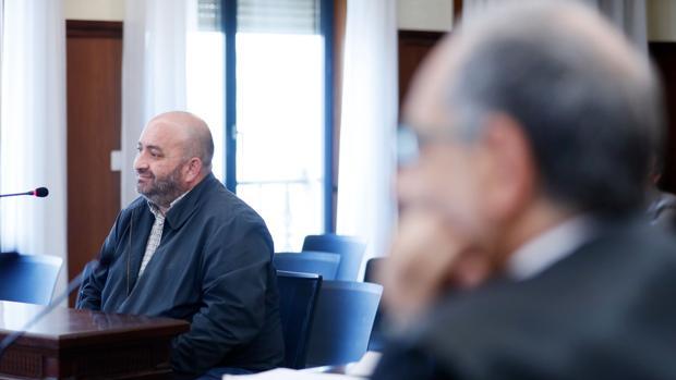 Juan Francisco Trujillo declara como testigo en la sesión del juicio por el caso ERE celebrada este martes en la Audiencia Provincial de Sevilla