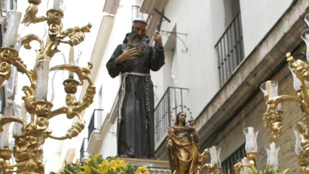 Imagen del Beato Diego de Cádiz